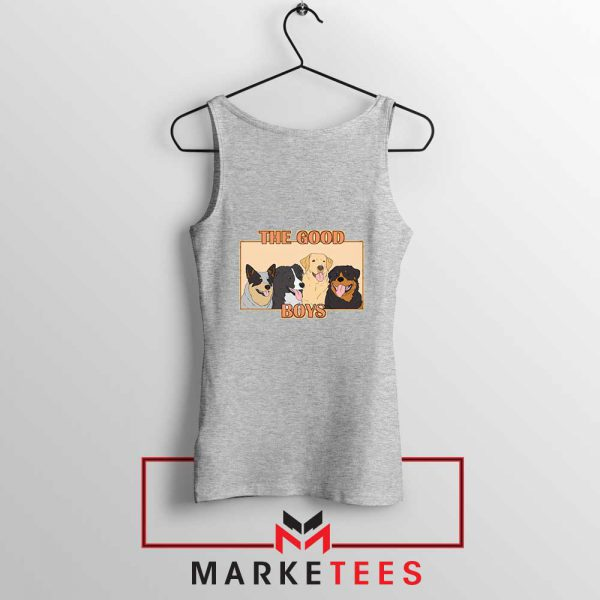 The Good Boys Sport Grey Tank Top