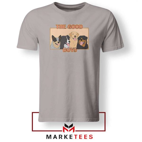 The Good Boys Sport Grey Tshirt