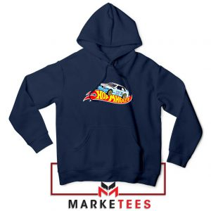 Travis Scott Hot Wheels Navy Blue Hoodie