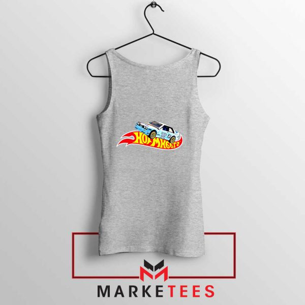Travis Scott Hot Wheels Sport Grey Tank Top