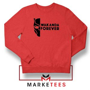 Wakanda Forever Red Sweatshirt