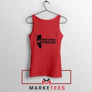 Wakanda Forever Red Tank Top