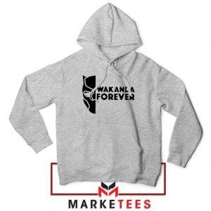 Wakanda Forever Sport Grey Hoodie