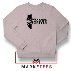 Wakanda Forever Sport Grey Sweatshirt