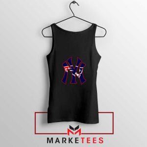Yankees New England Patriots Black Tank Top