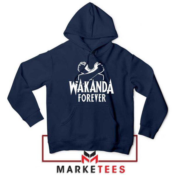 Africa Wakanda Forever Navy Blue Hoodie