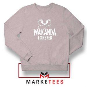 Africa Wakanda Forever Sport Grey Sweatshirt