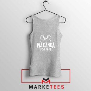 Africa Wakanda Forever Sport Grey Tank Top