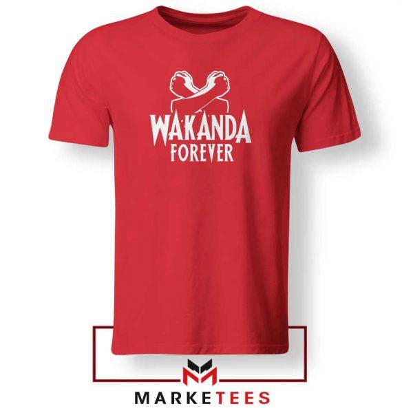 African Wankanda Foever Red Tshirt