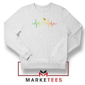 Black Power Heartbeat Sweatshirt