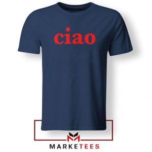 Ciao Italian Navy Blue Tshirt