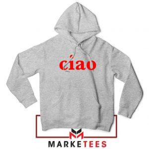 Ciao Italian Sport Grey Hoodie