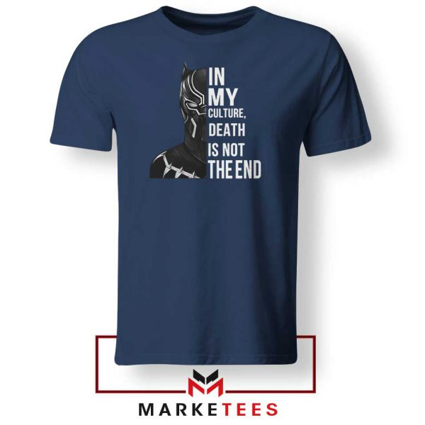 Death Is Not The End Navy Blue Tshirt
