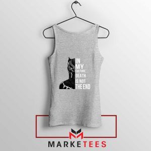Death Is Not The End Sport Grey Tank Top