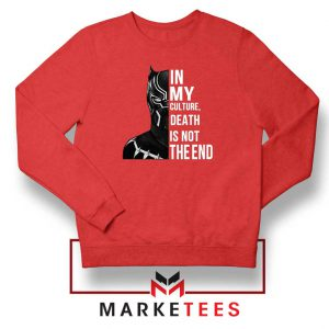 Death Is Not The End Sweatshirt
