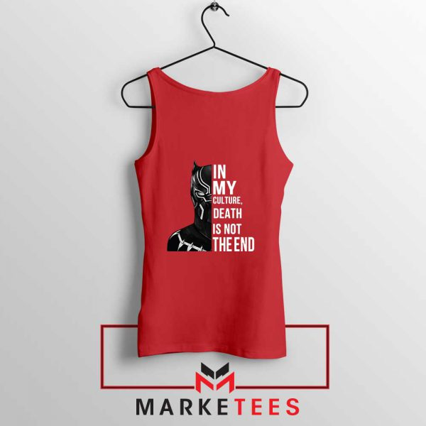 Death Is Not The End Tank Top