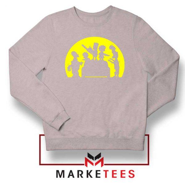 Doh Zombies Simpsons Sport Sweatshirt