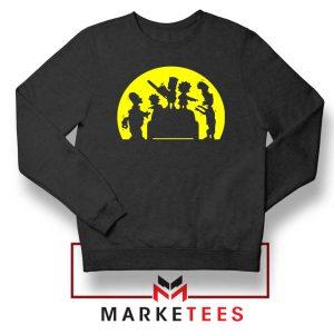 Doh Zombies Simpsons Sweatshirt