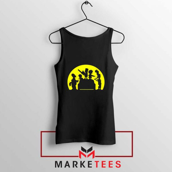 Doh Zombies Simpsons Tank Top