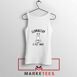 Llama Stay 6 Feet Away Tank Top