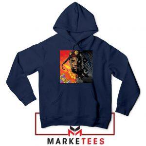Man Of Wakanda Navy Blue Hoodie