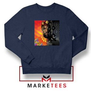Man Of Wakanda Navy Blue Sweatshirt