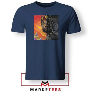 Man Of Wakanda Navy Blue Tshirt