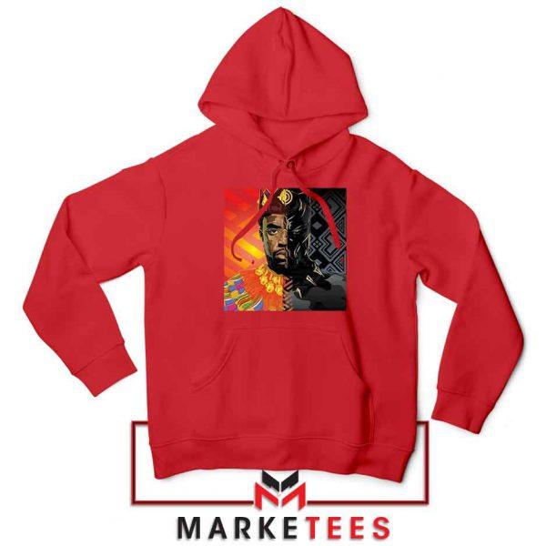 Man Of Wakanda Red Hoodie