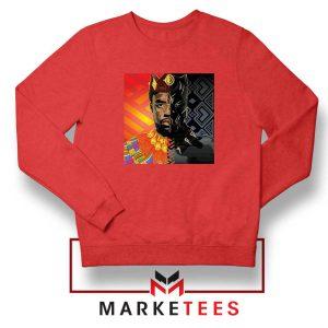 Man Of Wakanda Red Sweatshirt