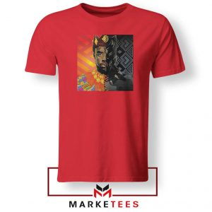 Man Of Wakanda Red Tshirt
