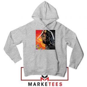 Man Of Wakanda Sport Grey Hoodie