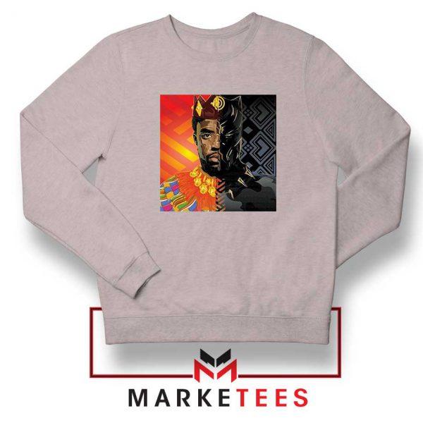 Man Of Wakanda Sport Grey Sweatshirt