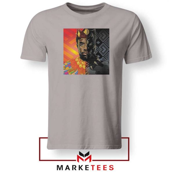 Man Of Wakanda Sport Grey Tshirt