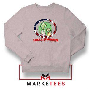 Morty Halloween Sport Grey Sweatshirt