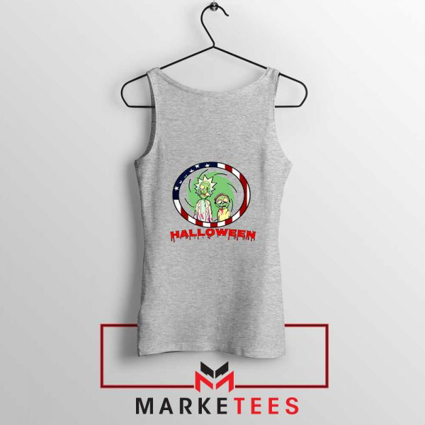 Morty Halloween Sport Grey Tank Top