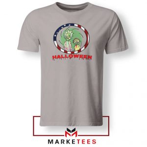 Morty Halloween Sport Grey Tshirt
