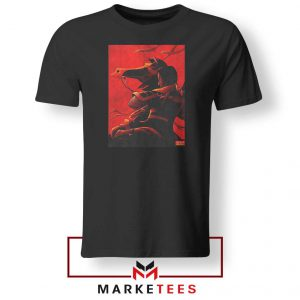 Mulan Desgin Poster Black Tshirt