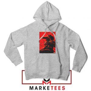 Mulan Desgin Poster Sport Grey Hoodie