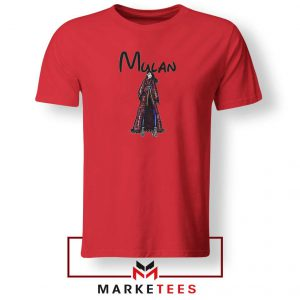 Mulan Princess Red Tshirt