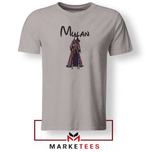 Mulan Princess Sport Grey Tshirt
