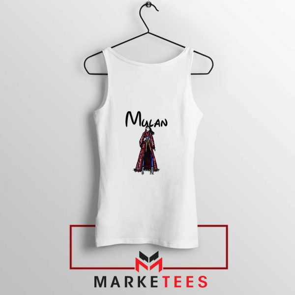 Mulan Princess Tank Top