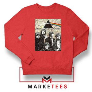 Pink Floyd Red Sweatshirt
