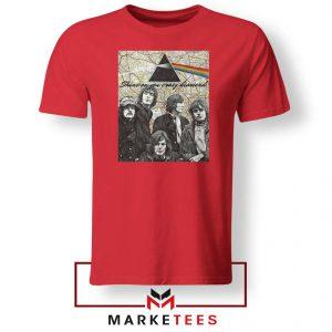 Pink Floyd Red Tshirt