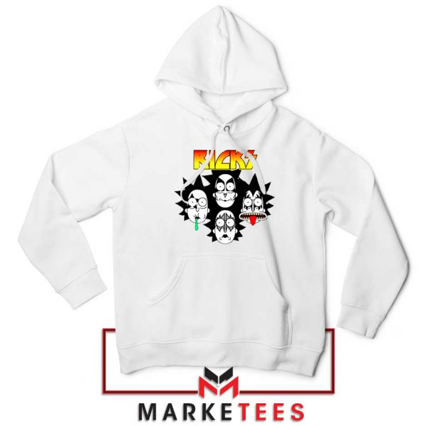 Rick And Morty Parody Of Kiss Hoodie