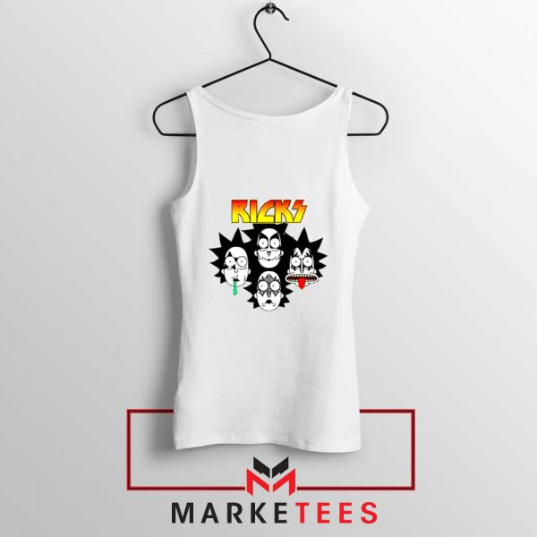 Rick And Morty Parody Of Kiss Tank Top