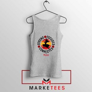 Strong Focused Connected Sport Grey Tank Top