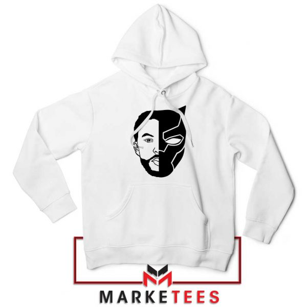 TChalla Face Silhouette Hoodie