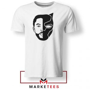 TChalla Face Silhouette Tshirt