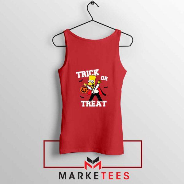 Trick Or Treat Bart Tank Top