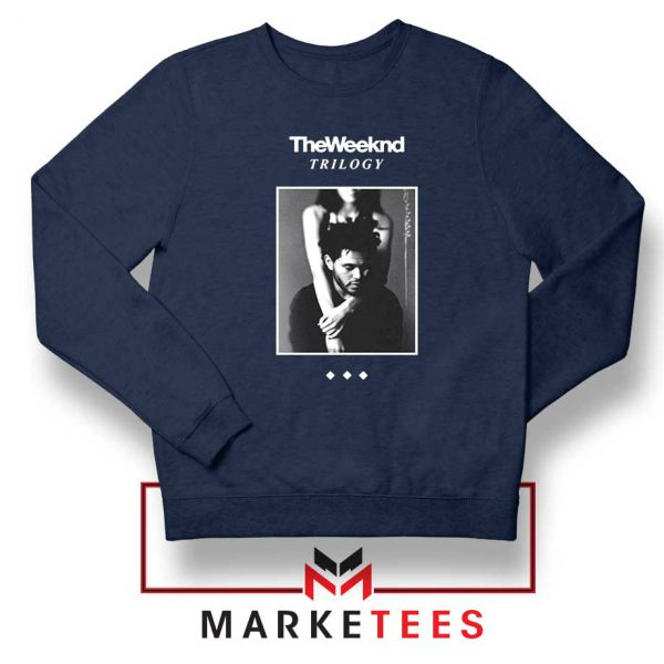 Trilogy Merch Navy Blue Sweatshirt